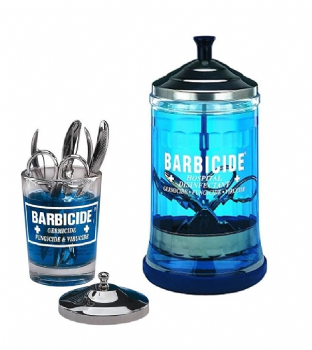 Barbicide Jars - Available in two Sizes